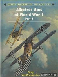 Albatros Aces of World War 1 Part 2