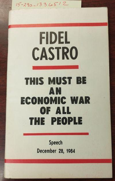 La Habana: Editora Politica, 1985. Saddle-stitched. 12mo; G+; Paperback; Spine, staple binding; Cove...