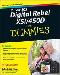 Canon EOS Digital Rebel XSi/450D for Dummies