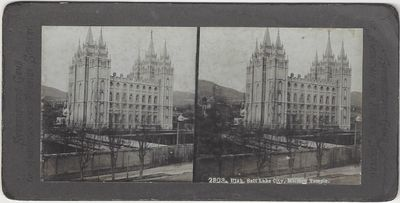 Stereoscopic Gems of American and Foreign Scenery, 1890. Stereoview. Silver gelatin photograph on gr...