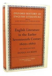 ENGLISH LITERATURE IN THE EARLIER SEVENTEENTH CENTURY, 1600-1660 The  Oxford History of English...