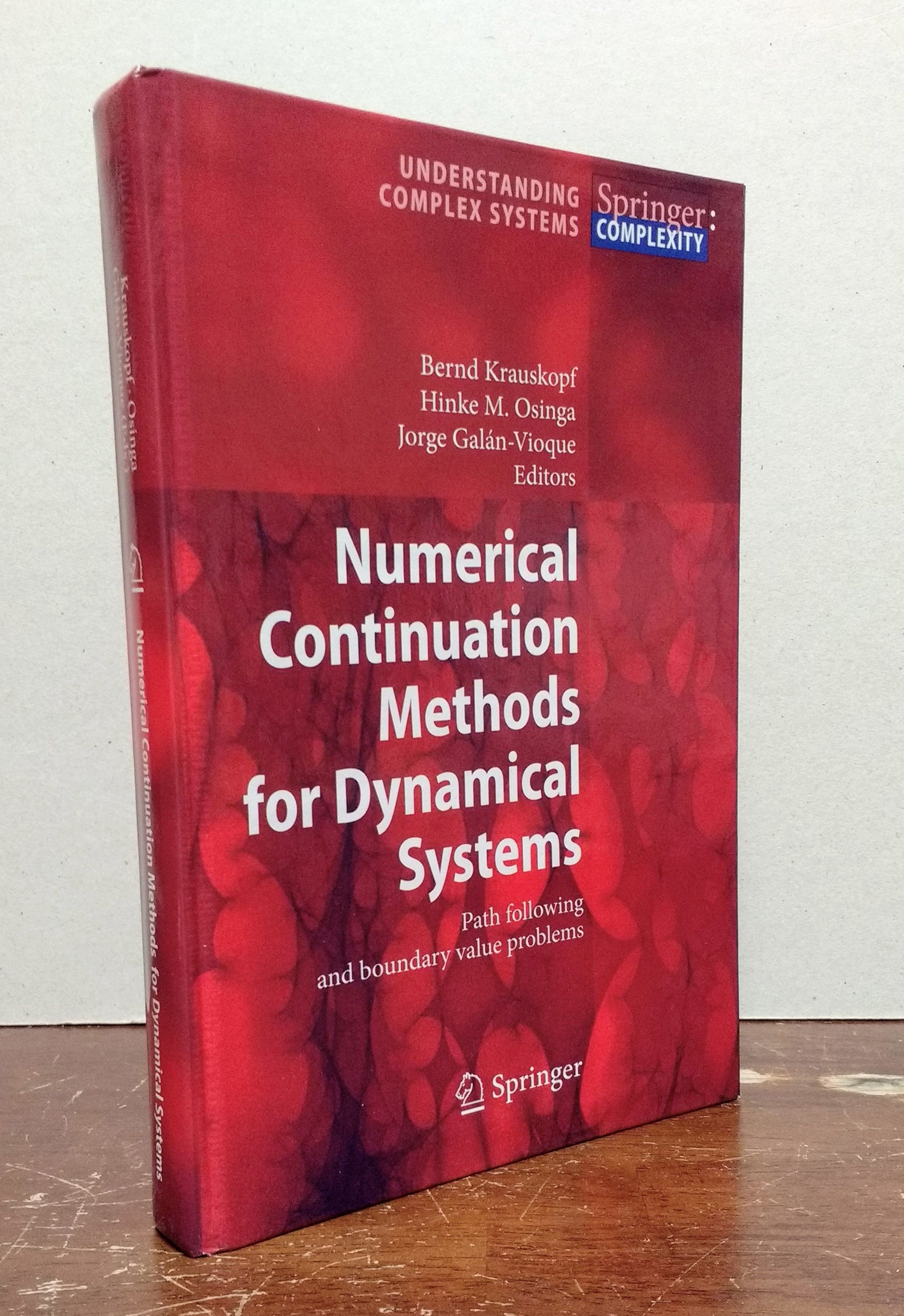 Numerical Continuation Methods for Dynamical Systems: Path Following and Boundary Value Problems