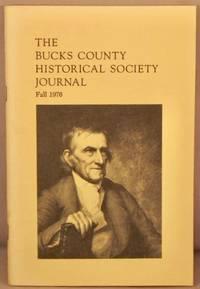 image of Bucks County Historical Society Journal, Fall 1976.