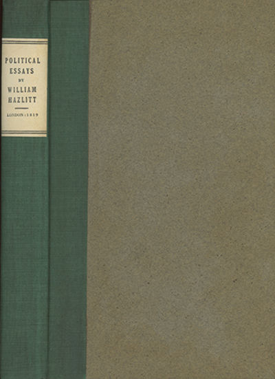 London: Printed for William Hone, 1819, 1819. First edition. Keynes 49; NCBEL III, 1232. Some slight...