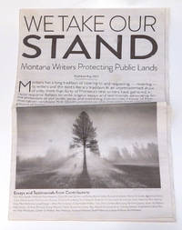 We Take Our Stand: Montana Writers Protecting Public Lands