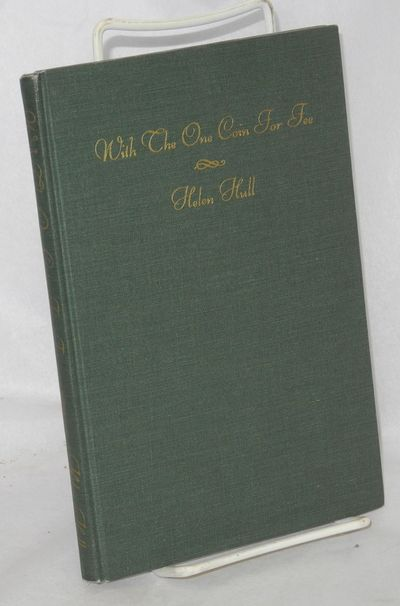 New York: Coward McCann, 1940. Hardcover. 67p., signed and inscribed by Hull, very good first editio...