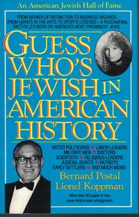 image of Guess Who's Jewish In American History