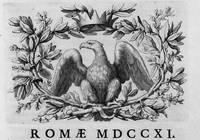 Bibliothecae Josephi Renati Imperialis...Catalogus Secundum Auctorum cognomina ordine alphabetico dispositus, una cum altero Catalogo Scientiarum & artium. [Compiled by Giusto Fontanini]