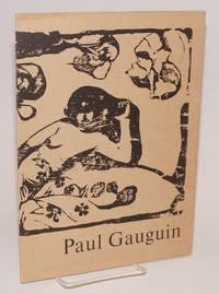 image of Paul Gaugin: woodcutter and private printer