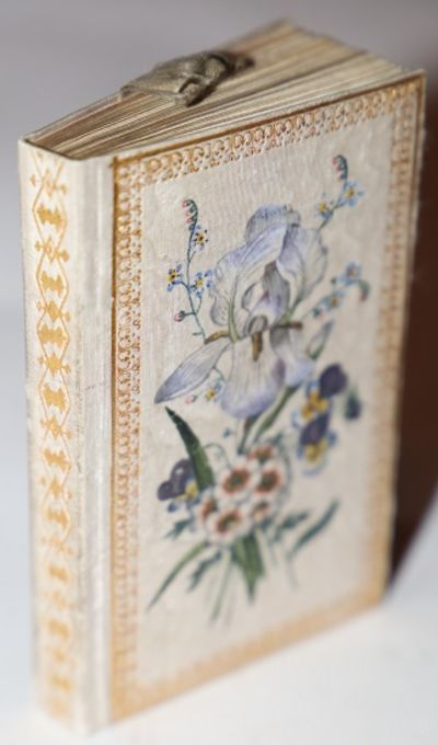 Wien: Jos. Riedl, 1821. Hardcover. Slipcase. Both silk pastedown. . Very Good. 16mo. 99 by 63 mm. 12...