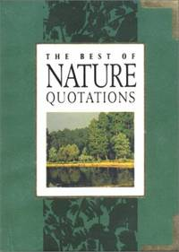 Best of Nature Quotations