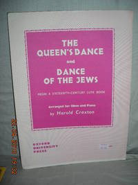 The Queen's Dance and Dance of the Jews from a sixteenth-century lute book arranged for oboe...