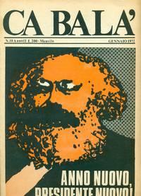 Ca Balà, N.10, Anno II. Mensile Gennaio 1972