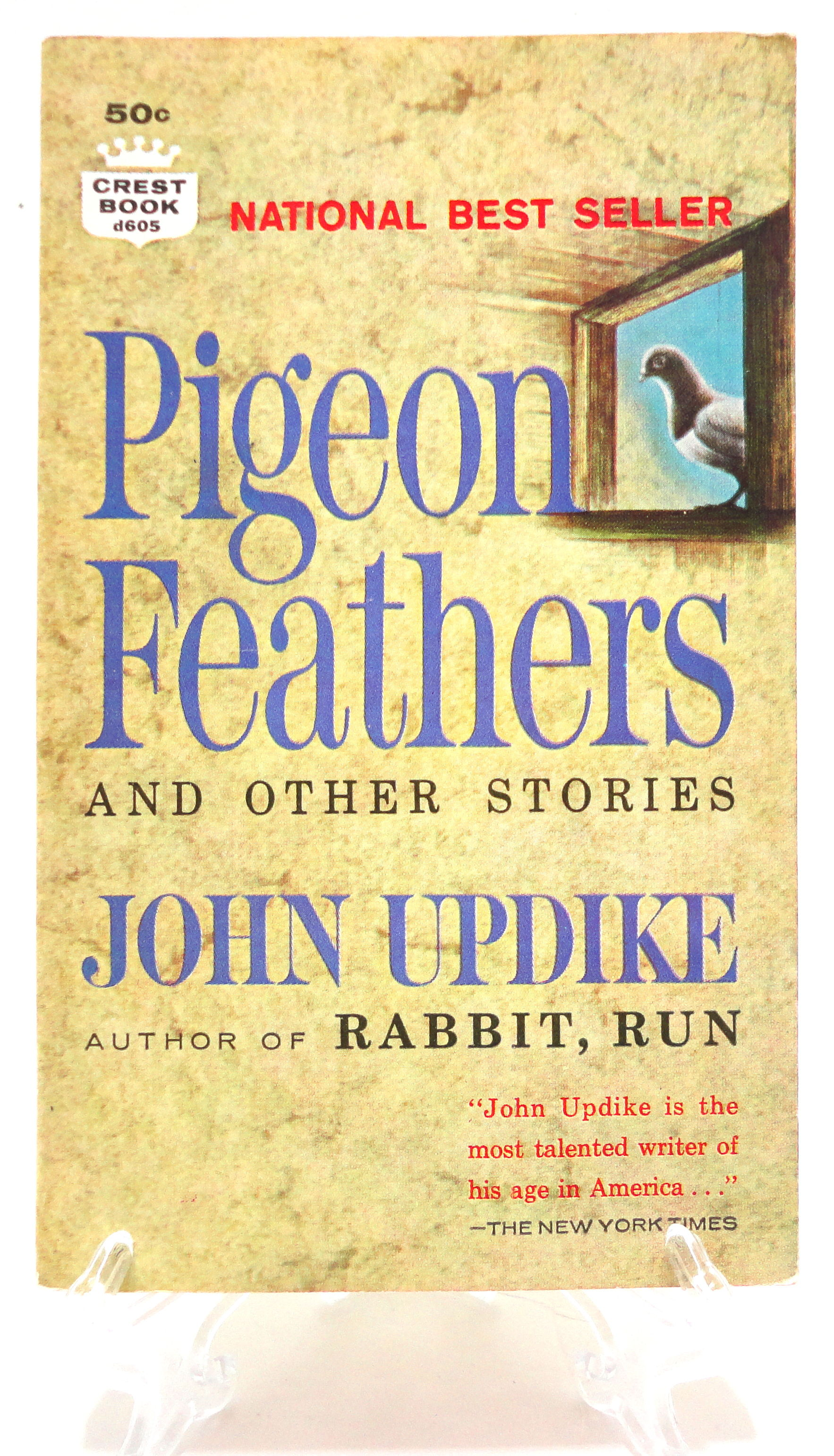 pigeon feathers by john updike Download john updike reading from pigeon feathers by john updike on calliope author readings.