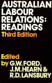 Australian Labour Relations: Readings by  R.D. [Editors]  J.M. & Lansbury - Paperback - 3rd Edition - 1983 - from Adelaide Booksellers (SKU: BIB11827)