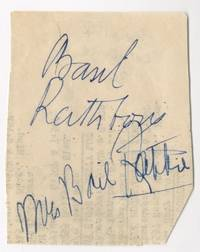 Autograph Signatures