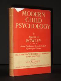 Modern Child Psychology: Hutchinson's University Library Volume No.20