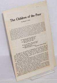 image of The children of the poor