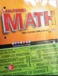 9780021359141 - California Math Course 2 Volume 1 by Cuevas Carter