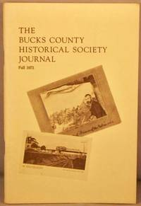 image of Bucks County Historical Society Journal, Fall 1973.