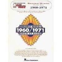 Broadway Musicals 1960/1971.