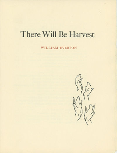 (Berkeley: University of California General Library, 1960), 1960. First edition, one of 200 copies p...
