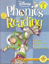 Disney Adventures in Learning Phonics & Reading Workbook (Grade 1)