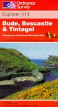 image of Bude, Boscastle and Tintagel (Explorer Maps)
