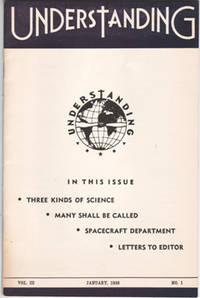 Understanding - January, 1958 Issue. UFO, New Age. From the Collection of Max Miller