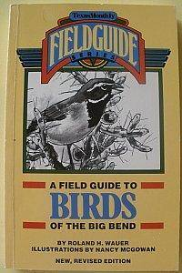 image of A Field Guide to Birds of the Big Bend
