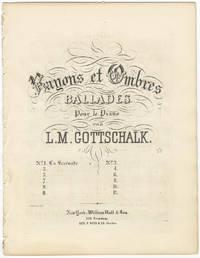 [D-85]. Rayons et Ombres Ballades pour le piano ... No. 1. La Sérénade
