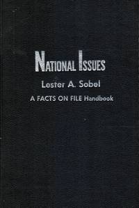 NATIONAL ISSUES: a Facts on File Handbook