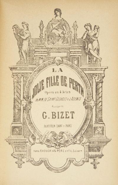 Paris: Choudens Père et Fils , 1930. Large octavo. Original publisher's decorative ivory wrappers p...