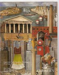 image of Christie's Important Latin American Paintings, Drawings, Sculpture, and  Prints: New York Monday, May 17 and Tuesday, May 18, 1993