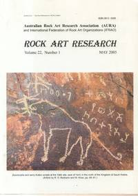 Rock Art Research Volume 22, Number 1