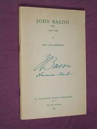 John Bacon R. A. 1740 - 1799