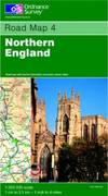 image of Northern England (Road Map)