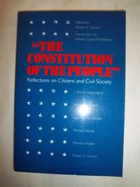 The Constitution of the People: Reflections on Citizens and Civil Society