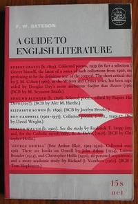 A Guide to English Literature by  F. W Bateson - Paperback - 1965 - from C L Hawley and Biblio.co.uk