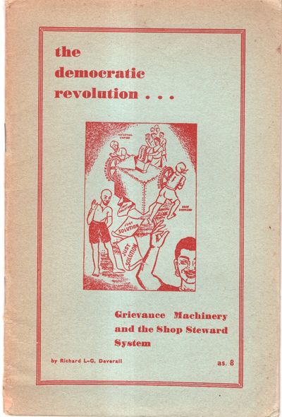 Bombay: Free Trade Union Committee, 1950. Paperback. Very Good. Paperback. Scarce. 8vo. Light blue s...