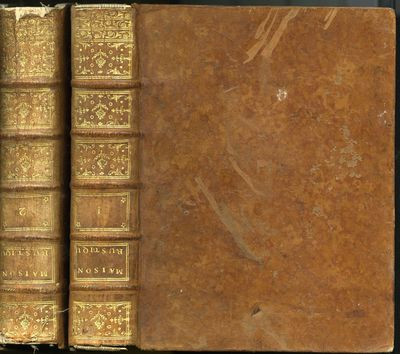 Paris: Desaint, 1772. Later Edition. Hardcover (Full Leather). Very Good Condition. 2 volumes in con...