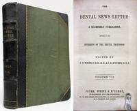 image of THE DENTAL NEWS LETTER Vol #7 (No 1-4) & Vol #8 (No 1-4) , 1853-1854
