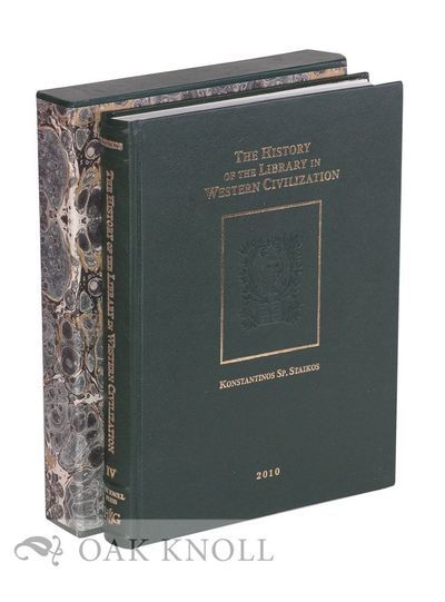 New Castle, Delaware: Oak Knoll Press, 2010. leather, publisher's slipcase. 8.5 x 11 inches. leather...