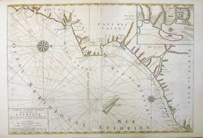 Amsterdam: Pierre Mortier, 1693. unbound. Map. Copper plate engraving with original hand coloring. I...