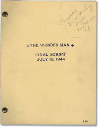 [The] Wonder Man (Original screenplay archive for the 1945 film, copy belonging to director H. Bruce Humberstone)