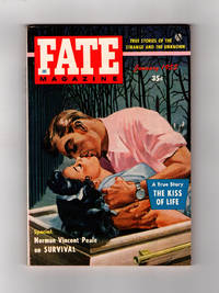 Fate Magazine - True Stories of the Strange and The Unknown. January, 1955.  Ghost Ship, Ghost Fireball, Reincarnation, Natural Photographs, Fakir's Curse, Positive Thinking