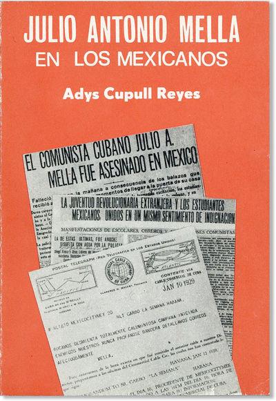 La Habana: Editora Politica, 1984. First Edition. Small, slim octavo (20cm.); publisher's red pictor...