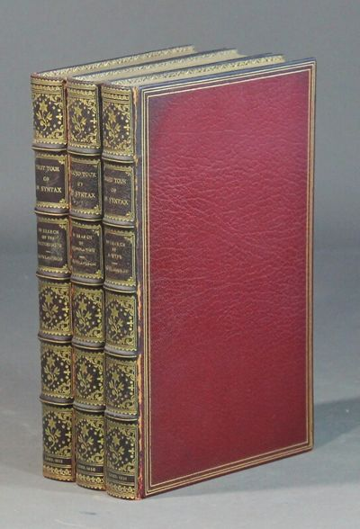 London: R. Ackermann, 1821. First editions, 3 volumes, 8vo, pp. 275; 277; 279; 78 hand-colored aquat...