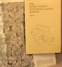 image of Bucks County Historical Society Journal, Fall 1977.
