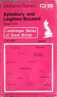 1:50,000 Landranger series: Aylesbury and Leighton Buzzard
